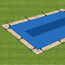 comment installer bache hivernage piscine